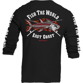 Red Flame Tuna Kids Long Sleeve